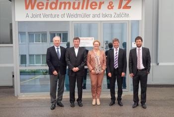 Visit of Ms Eckstein and Mr Köhler